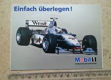 McLAREN MERCEDES MOBIL 1 - STICKER / AUTOCOLLANT FORMULA 1 (F1)