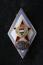 Hungary Hungarian Badge Police Officer Academy Award Badge Medal School