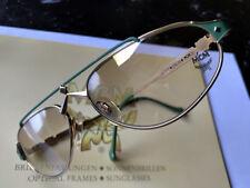 MCM 3 gold-grün,  Brille, Sonnenbrille, Titan, über 30 Jahre alt, NEU