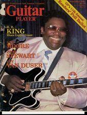 B.B. King Gary Moore Guitar Player Magazine Sept 1980