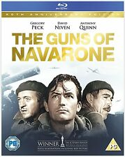 THE GUNS OF NAVARONE - BLU-RAY - REGION B UK