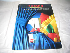 New listing Singer Sewing For the Home Sewing Reference Library c1984,1988 Hb p128