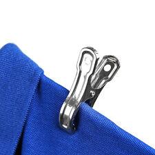 20 stk Rostfreier Stahl Kleidung Waescheklammer Haengende Kleidung Clips Silber