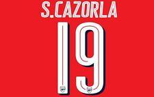 Cazorla Arsenal FA Cup 19 2016-17 Hogar Camiseta de fútbol del final para