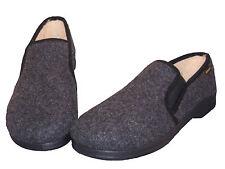 d'homme Chaussons laine vierge chaud pieds élastique confort pantoufles