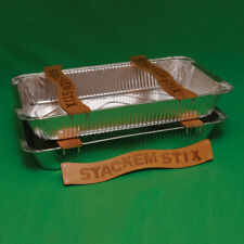 stakem sticks for foil steam table pans , lets you stack safely without crushing