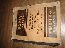 International Harvester IH CM-52 Hammer Mills Corn Shellers Parts Catalog