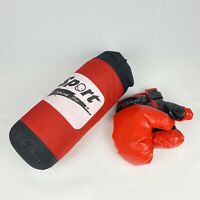 Sport Boxing Set Kids Junior Boxing Hanging Punch Bag & Gloves Children Kit Gift
