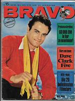 BRAVO Nr.15 vom 4.4.1966 Charlton Heston, Chris Andrews, Lulu, Lords, James Dean