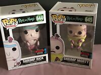 Funko POP! NYCC 2019 Shrimp Rick And Morty Fall Convention HT Exclusive NEW MINT
