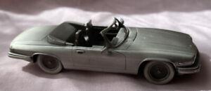 Danbury Mint  Pewter Jaguar 1988 XJ -S  Convertible