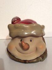 Christmas: Ceramic Snowman Cookie Jar