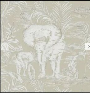 2x New Sealed rolls Harlequin elephant Kinabalu Wallpaper, 111776 RRP £116