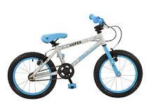 "Falcon Superlite 16"" Wheel Boys Kids Girls Mountain Bike Alloy Silver/Blue"