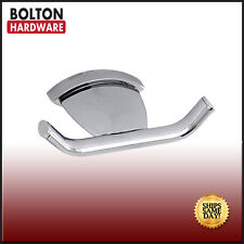 Bolton Solid Brass Clothes/ Towel/ Hat Hook in Bright Chrome