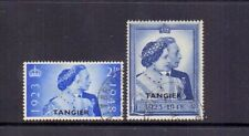 MOROCCO AGENCIES-TANGIER 1948 SILVER WEDDING ( 2 ) FINE USED CAT £25