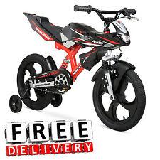 Kids Bike 16 BMX Moto Motorcycle Boys Girl Kid Child Children Toddler Bicycle