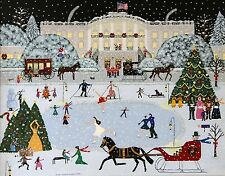 Laura's Victorian Christmas (Print) By Susan C Houghton