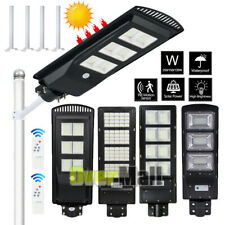 Dusk-to-Dawn 250W 99000Lm Solar Street Light Commercial Area Road Lamp Ip67+Pole