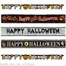 Halloween BANNERS Scary White Ghost Indoor Outdoor Party Supplies Decorations