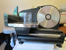 "CLEAN & TESTED ELITE MEAT/FOOD SLICER  - 7-1/2"" BLADE. PERFECT FOR HOME"