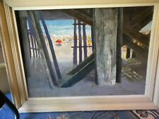 Vintage oil painting, Charles Andrew Taylor, signed,Listed Artist  Wildwood NJ