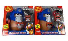 "Mr. Potato Head Transformers ""Optimash Prime"" New in Box Toy Playskool Lot Of 2"