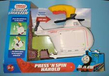 Thomas & Friends Trackmaster Press n' Spin Harold (Brand New)