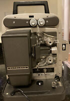 Vintage Bell & Howell Super 8mm 346A Autoload Film Projector Working Condition