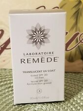 Laboratoire Remede Translucent Uv Coat Tinted #3 New Oil Free Spf 30 1 oz 30 ml