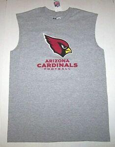 Arizona Cardinals Football NFL Logo Tank Top Muscle Shirt Tee New         Men XL