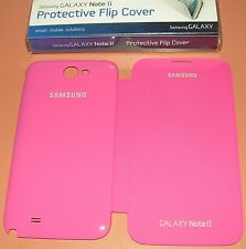 Samsung Brand Galaxy Note II Protective Flip Cover, High Gloss Pink/Ma