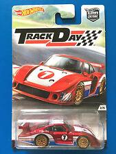 2016 Hot Wheels Car Culture TRACK DAY 1978 PORSCHE 935 CUSTOM SPORTS mint!