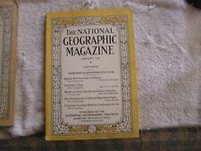 National Geographic January 1928