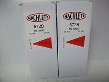 MATCHED PAIR OF MACHLETT  572-B TUBES