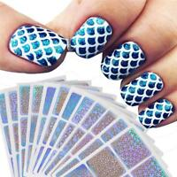 12 Sheets Nail Stamping Plates Stencils For Nails Reusable Manicure Stickers