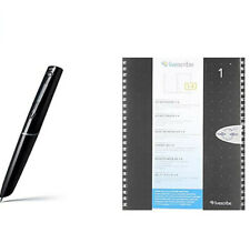 Livescribe Echo Smartpen and notebook opened but not used