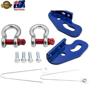 Recovery Tow Points Kit for Nissan Patrol GU Series 3, 4, 5 ON 4WD w/ Shackles