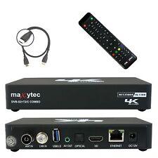 Maxytec Multibox 4K UHD 2160p E2 Linux + Android DVB-S2 Sat & DVB-T2/C Receiver