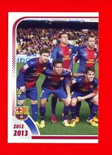 FC BARCELONA 2012-2013 Panini - Figurina-Sticker n. 11 - TEAM 1/2 -New