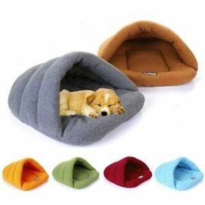 Warm Comfortable Pet Kennel Slippers House Nest Small Pet Cat Sleep Bed Supplies
