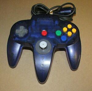 Nintendo 64 Official Grape Purple Funtastic Controller N64 NUS-005 Fast Shipping