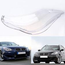 Front Headlight Lens Light Clear Cover For BMW 5 series E60 E61 525i 530i 535i