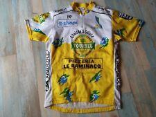 MAILLOT CYCLISTE NORET LA MANCHE TOURTEL PEUGEOT CYCLES TAILLE S/2 TBE