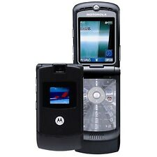 Good! Motorola Razr V3 Razor Camera Quadband Gsm Bluetooth Flip At&T Cell Phone