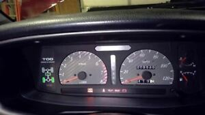 Speedometer Instrument Cluster 208K Miles Fits 99-01 ISUZU VEHICROSS 46558