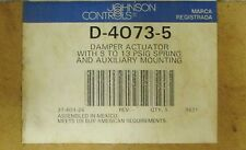 JOHNSON CONTROLS D 4073 5 Pneumatic Damper Actuator