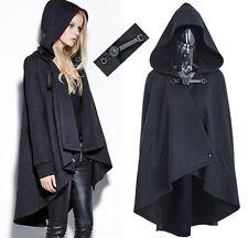 Manteau veste cape gothique punk lolita fashion capuche sangle cuir Punkrave
