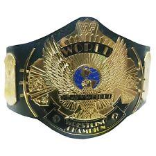 More details for wwf world heavyweight wrestling championship winged eagle title belt adult 2mm