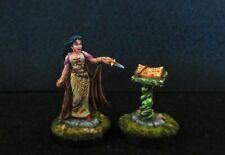 Reaper Miniatures, Female Necromancer (Metal) Painted D&D,Dark Sword